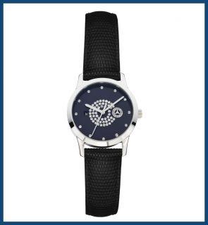 Original Mercedes Benz Armbanduhr / Uhr Damen Edelstahl mit Swarovski