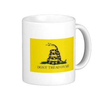 Dont Tread On Me Mugs, Dont Tread On Me Coffee Mugs, Steins & Mug