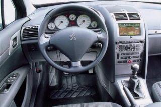 Lederlenkrad Lenkrad Peugeot 407 steering wheel