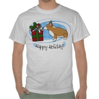 Kawaii Christmas Corgi Puppy Gift Shirts