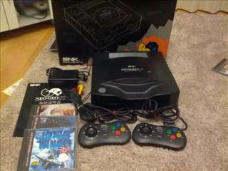NEO GEO CD Console System Boxed CD T01 Import JAPAN.Good Condition