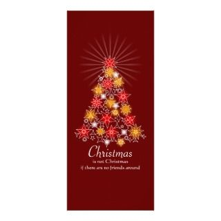 Turquoise & Gold Bubbles Christmas Tree Custom Invitations