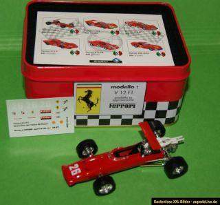 von Solido in Metal Box ( Ferrari Collection ). Fahrer Jacky Ickx