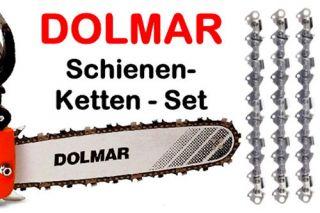 Fuehrungsschiene Dolmar PS 410 411 420 C D Schwert 3 Ketten 38cm 325 1