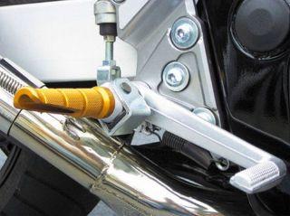 Moto Racing Fussrasten Honda VFR 400 NC30 fuer Originalhalter 4 Farben