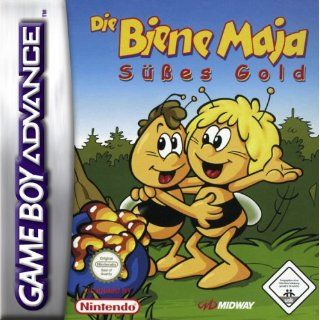 Die Biene Maja Süßes Gold [Software Pyramide] Game Boy Advance