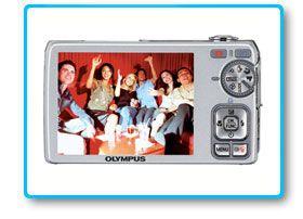 Olympus FE 350 Digitalkamera 3 Zoll Wide Black Kamera