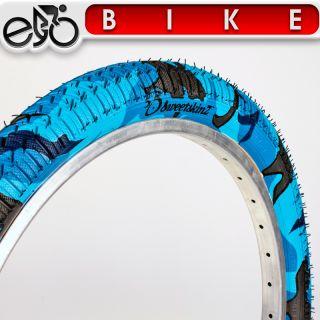 Nightwing Fahrrad Reifen 2 x 2 25 57 406 blau camo Reflex BMX B201