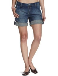 MUSTANG Jeans Damen Jeans Short Niedriger Bund, 505 5121