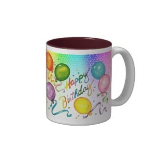 Happy Birthday Party Mug