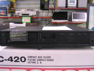 NEW PROTON AC 420 COMPACT DISC PLAYER