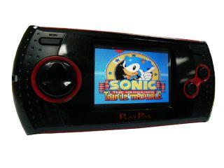 Arcade Master portable Spielekonsole mit 30 SEGA Klassikern, 2,4TFT