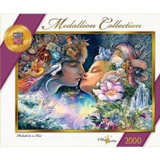 Prelude to a Kiss Medalion Collection Josephine Wall 2000 Teile Puzzle
