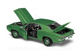 1969 CHEVROLET COPO CAMARO 427 Rally Green Metallic 124 Danbury Mint