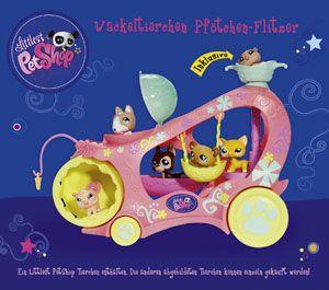 Littlest Pet Shop 93140   Wackeltierchen Pfötchen Flitzer