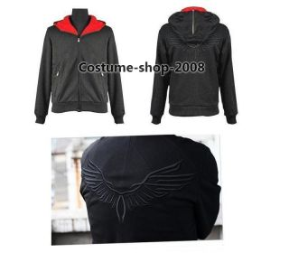 Assassins Creed Desmond Miles Costume Hoodie Jacket Costume cosplay