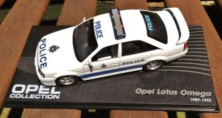 Code3 *ONE OFF SPECIAL* Police Lotus Omega 143 Vauxhall Carlton Opel