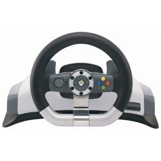Xbox 360   Lenkrad Racing Wheel Wireless Games