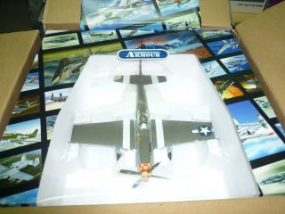 SAMPLE FRANKLIN MINT ARMOUR 1/48 USAF P51 P 51D Mustang Berlin Express
