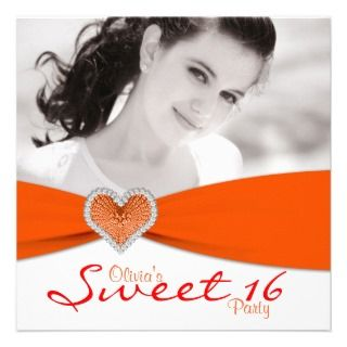 Sweet Sixteen Photo Birthday Party invitations by InvitationCentral