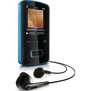 Philips GoGear ViBE  Player, 8 GB, blau Audio & HiFi