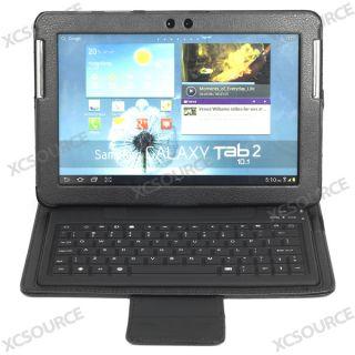 NEU Bluetooth Tastatur Leder Tasche für Samsung Galaxy Tab2 10.1