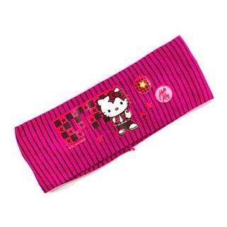 Hello Kitty Haarband EMO ROCK & PUNK striped darkpink