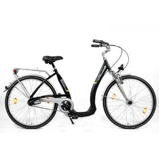 City Fahrrad Tiefeinsteiger Aluminium 28 Zoll Damen Sport