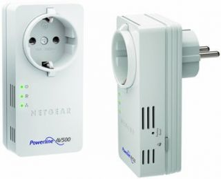 Netgear XWNB5602 100GRS Powerline WLAN Access Point Set