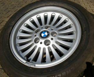 225 55 R 16 Winterreifen BMW 5er E39 Winterräder auf Original BMW