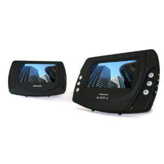 United DVP7041 Car DVD Set 2 Monitore 12V MP4 CD