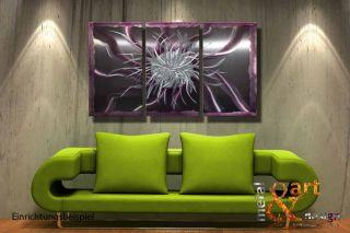 VK 439,00 METAL&ART Design Metall Lila Violett Modern kein Ölbild