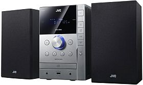 JVC UX G 377 E Kompaktanlage (FM Tuner, 60 Watt, USB 2.0) schwarz