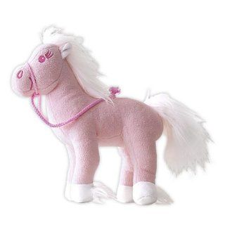 Tchibo Kuscheltier Plüsch Pferd Peggy Pink 24cm Spielzeug