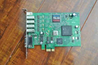 MOTU 2408 MK3 Interface w/ Motu PCI 424 Card