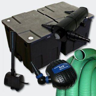 Filter Set Bio Teichfilter 60000l+SuperEco Pumpe+36W UVC Klärer