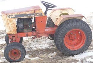 CASE 442 Tractor Hydraulic Oil Cooler Heat Exchanger