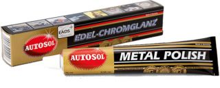 AUTOSOL METAL POLISH 100g 75ml CHROME STAINLESS STEEL CARS TRUCS