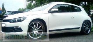 18 MILANO Felgen AUDI CHRYSLER MERCEDES SEAT SKODA VW