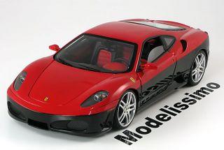 18 Hot Wheels Elite Ferrari F430 red/black