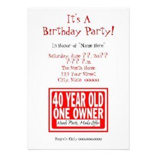 50 Year Old Birthday Card