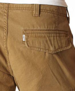 NEW Mens Levis 569 Loose Cargo Combat Pants Jeans 44/32 Blk