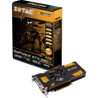 ZOTAC GeForce GTX560 Ti 448 Cores Nvidia PCIe Grafikkarte GDDR5 1280