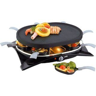 Petra Electric RC 12.02 Raclette 8 Pfännchen oval
