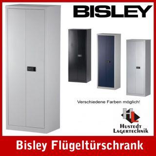 BISLEY Stahlschrank Aktenschrank lichtgrau 600 mm breit