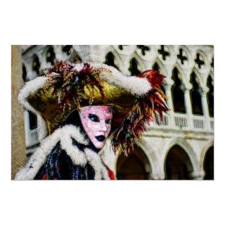Carnival or Mardi Gras Pary Mask Digial Paining New Orleans