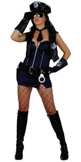 Böser Cop Sexy Polizistin Verkleidung Fasching Karneval Halloween