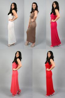 Public Desire   LADIES NEW LONG BEACH SUMMER JERSEY HOLIDAY MAXI DRESS