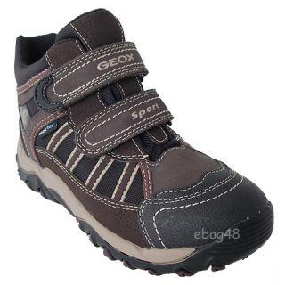 Geox Schuhe   Alaska J1306J 011CE C0202 Brown Black NEU