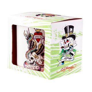Ed Hardy 25210 Tasse   Lucky New York City Küche